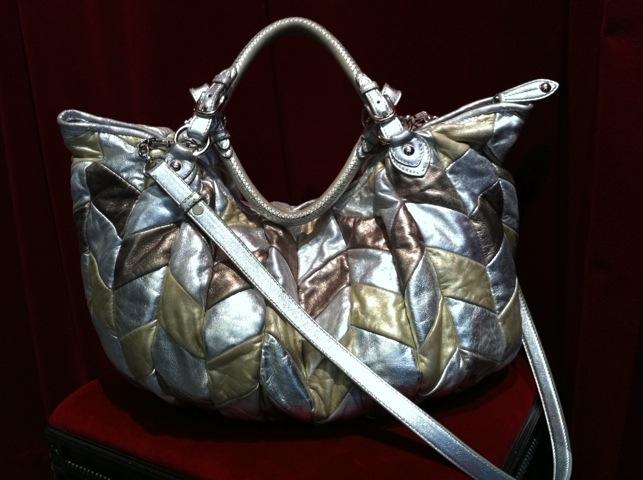 Miu Miu Metallic Patchwork Bag