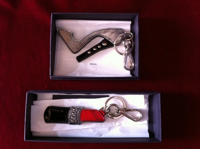 Prada Nyckelringar