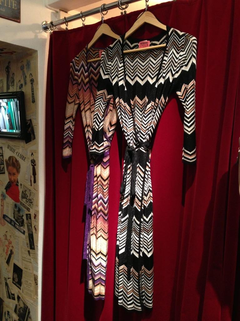 Missoni Lindex Omlottklänning