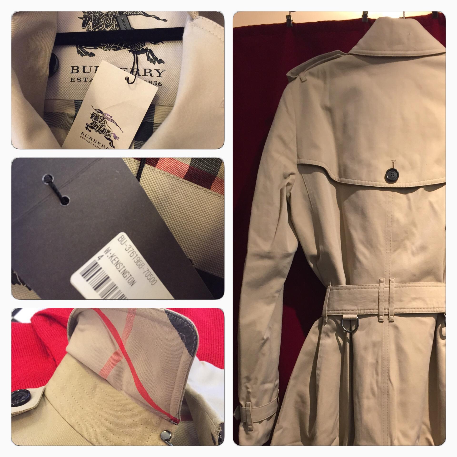 Burberry Kensington Trenchcoat