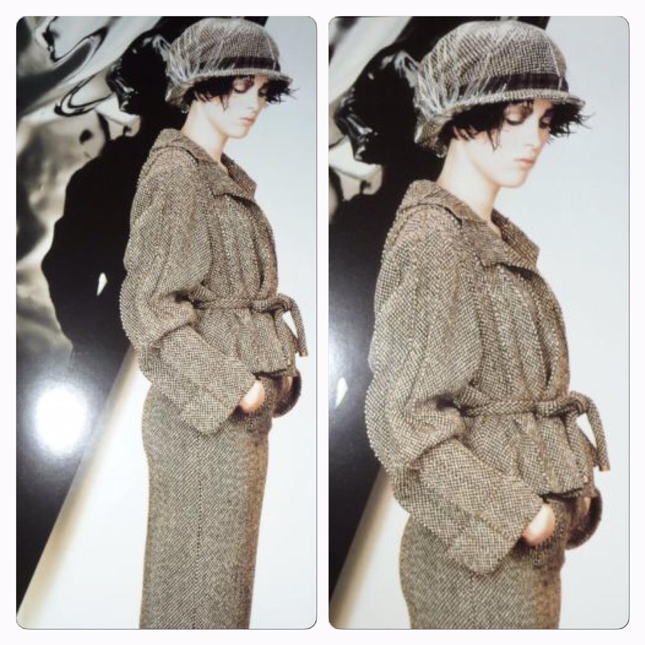 Underbar Chanel Dräkt Från Höstkollektionen 1998