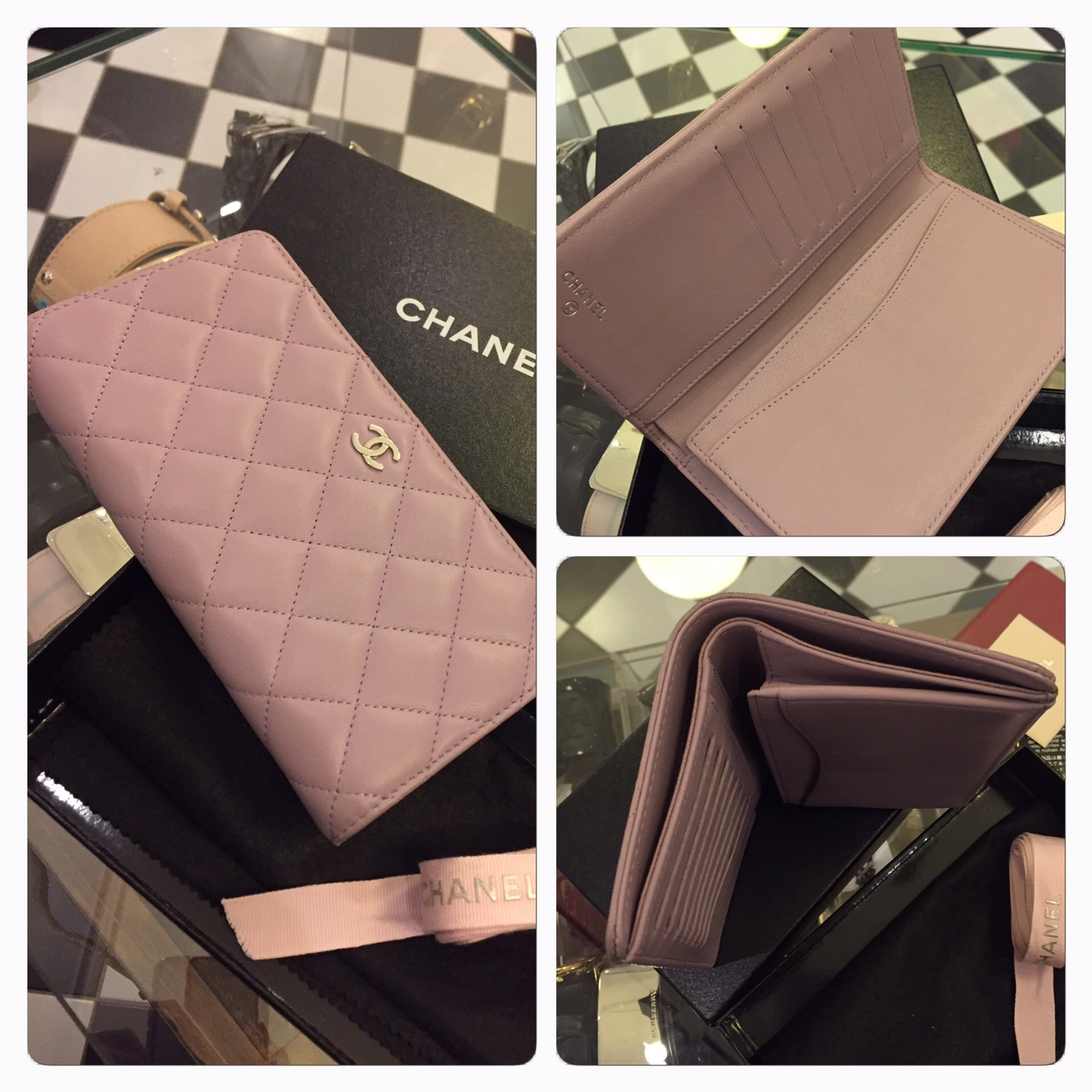 Chanel Plånbok