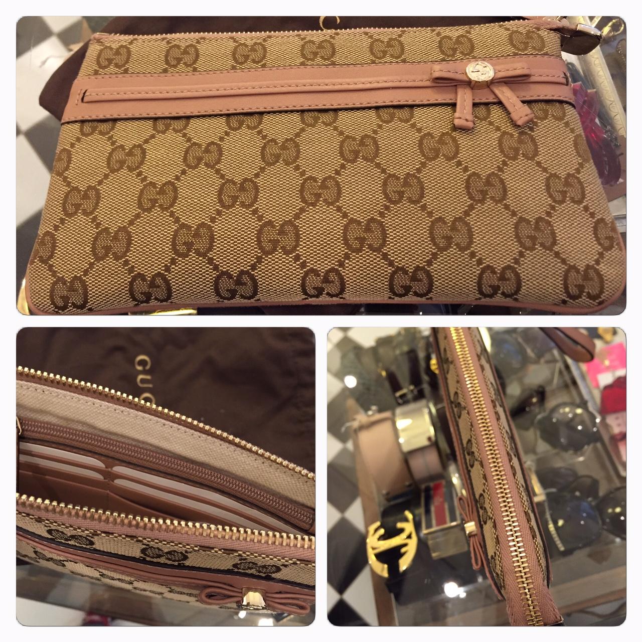 Liten Väska/Plånbok Från Gucci