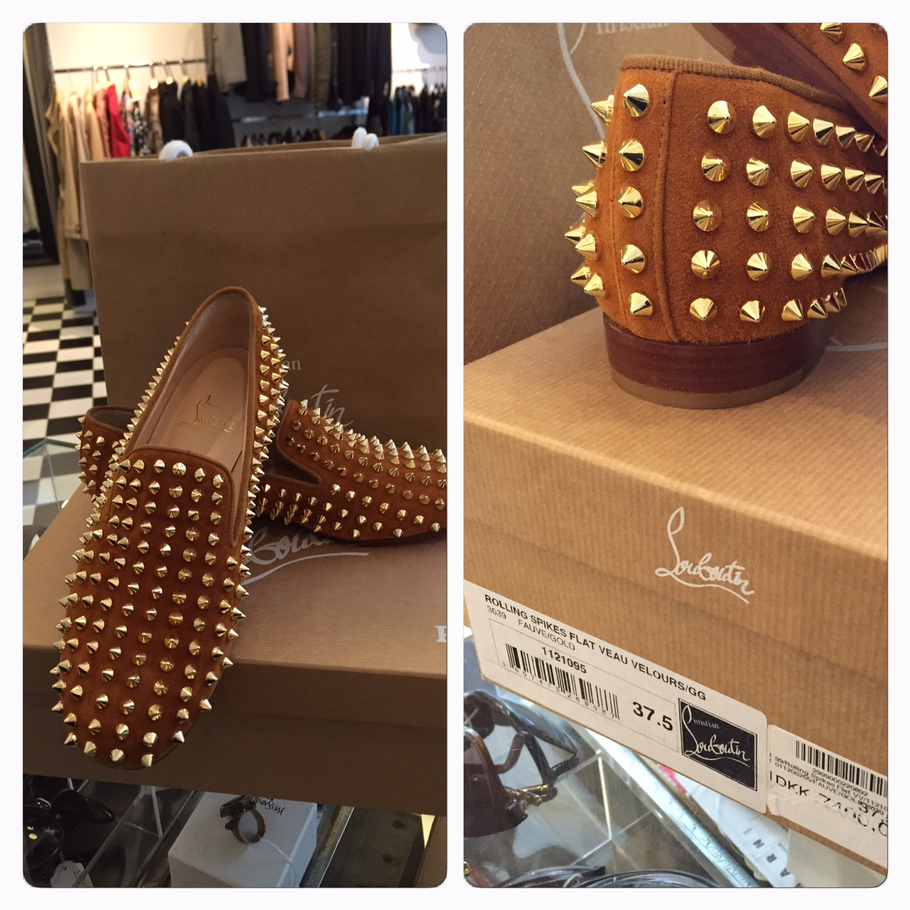 Louboutin Loafers Med Nitar