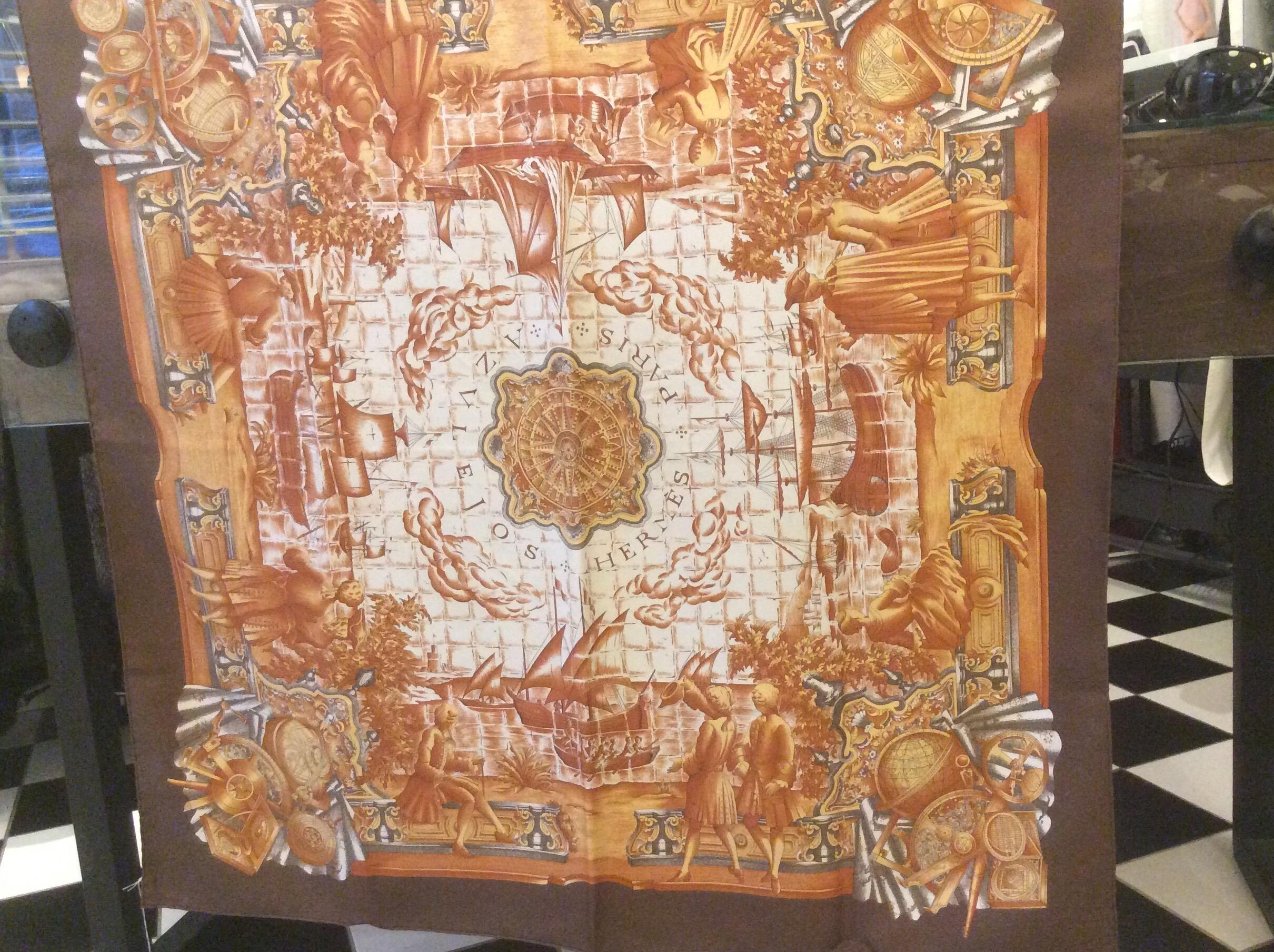 Vacker Hermes Sjal
