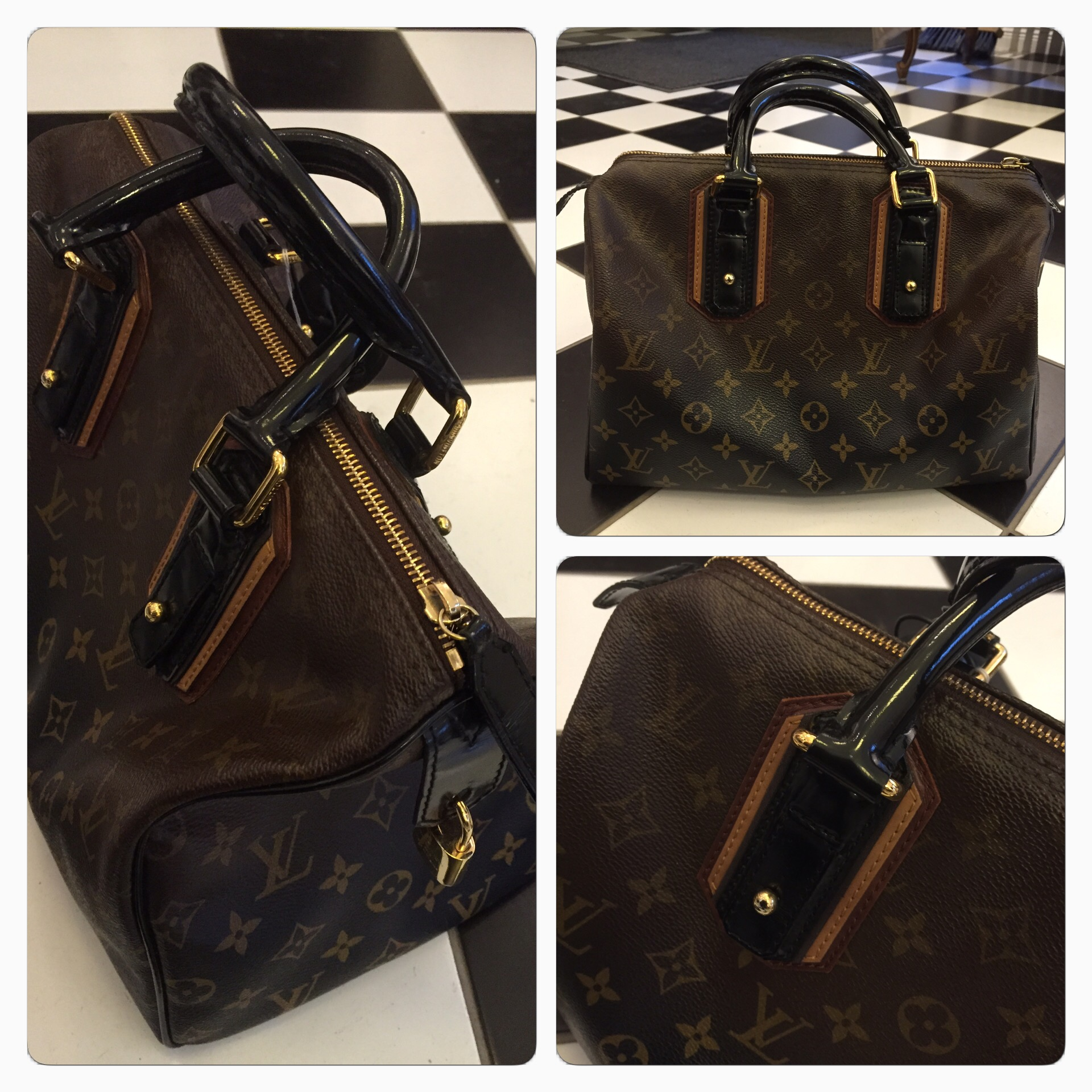 Limited Edition Louis Vuitton Speedy Väska
