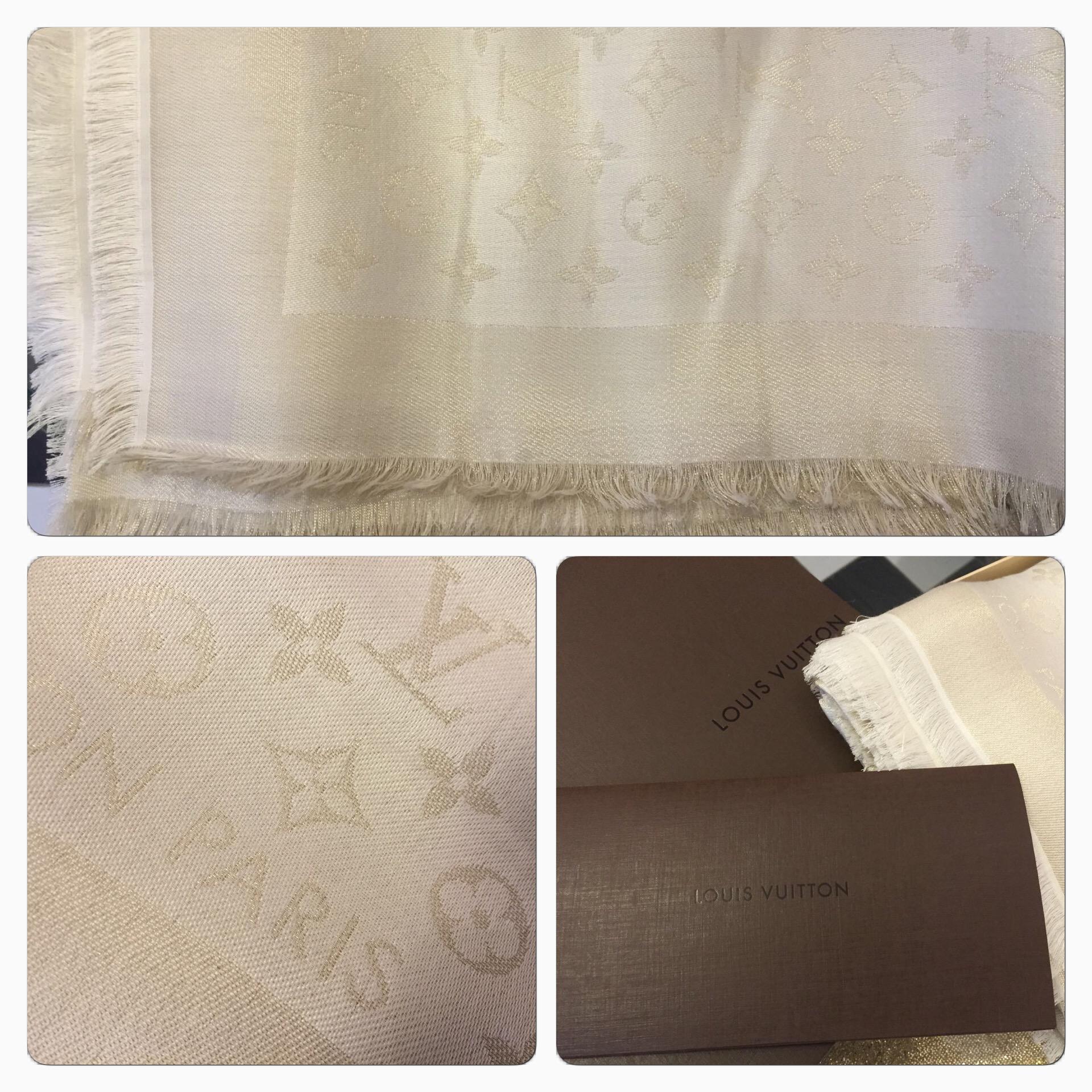Vacker Louis Vuitton Sjal
