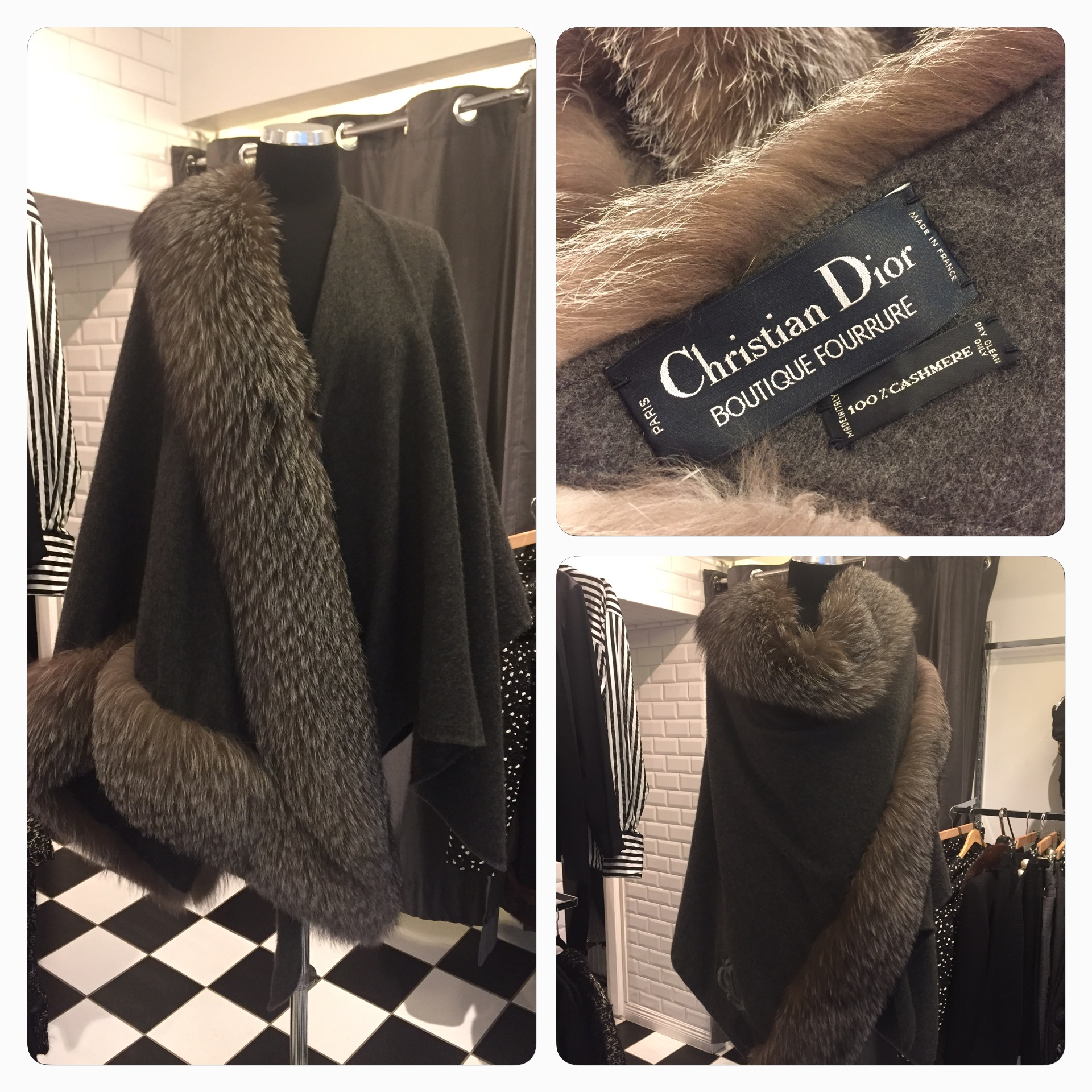 Fantastisk Christian Dior Cape