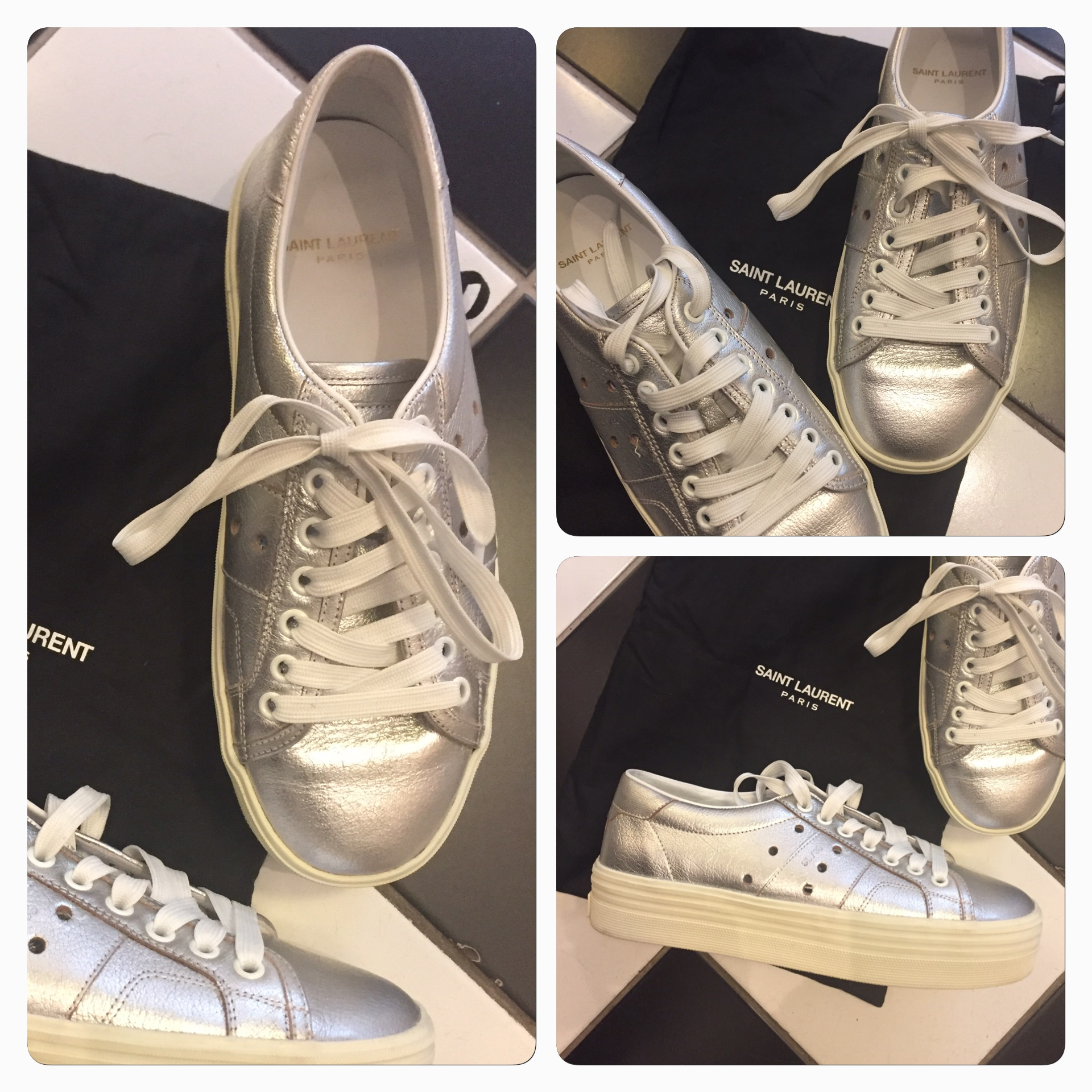Tuffa Saint Laurent Sneakers SÅLD