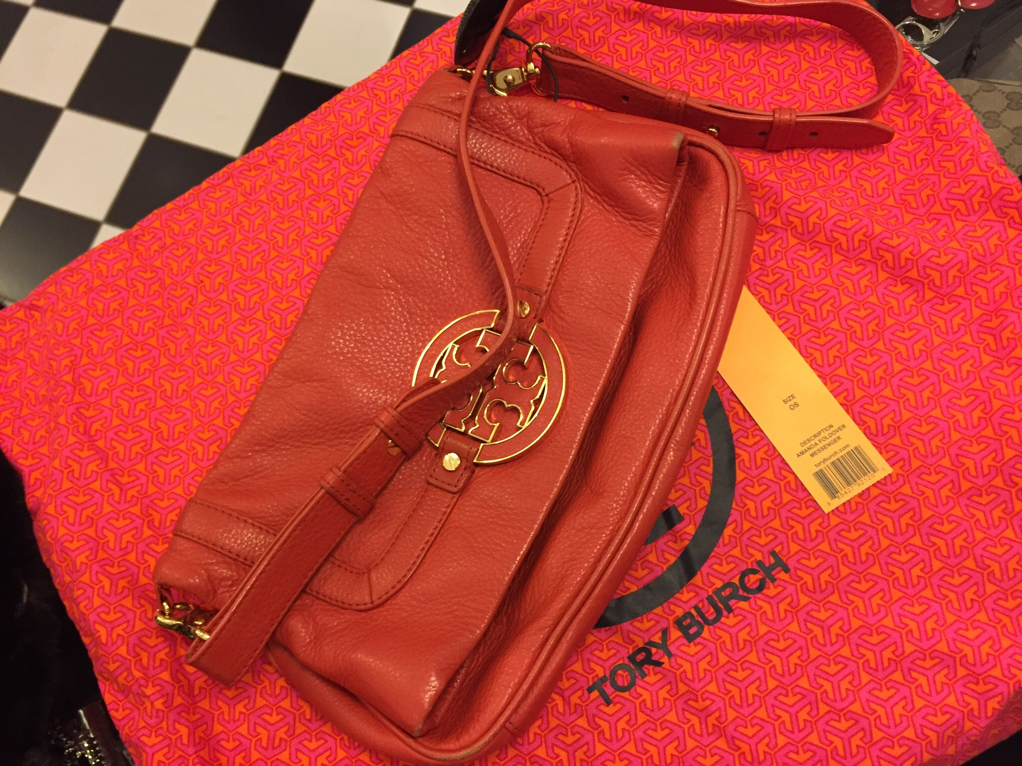 Tory Burch Messenger Väska
