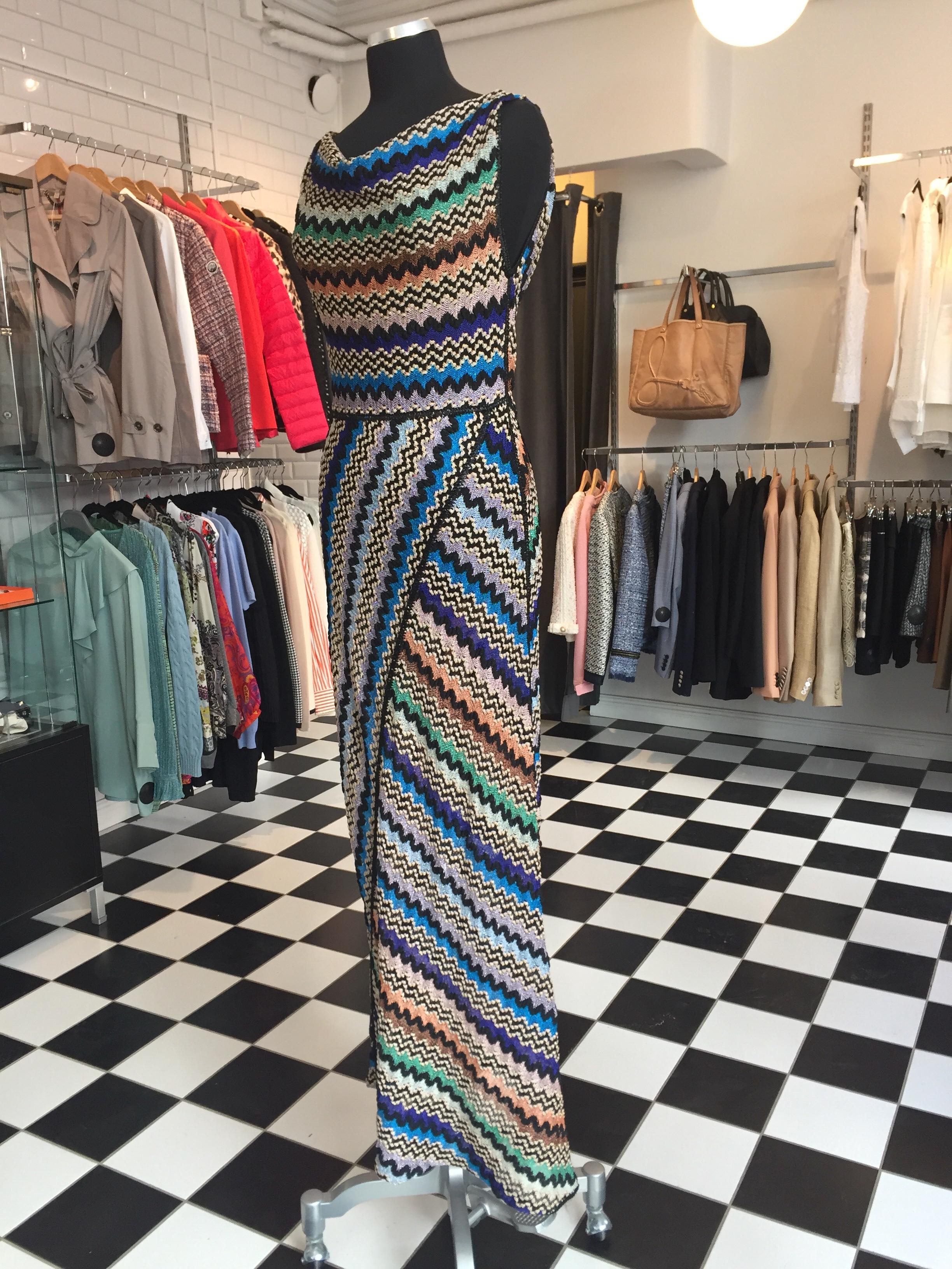 Vacker Missoni Långklänning