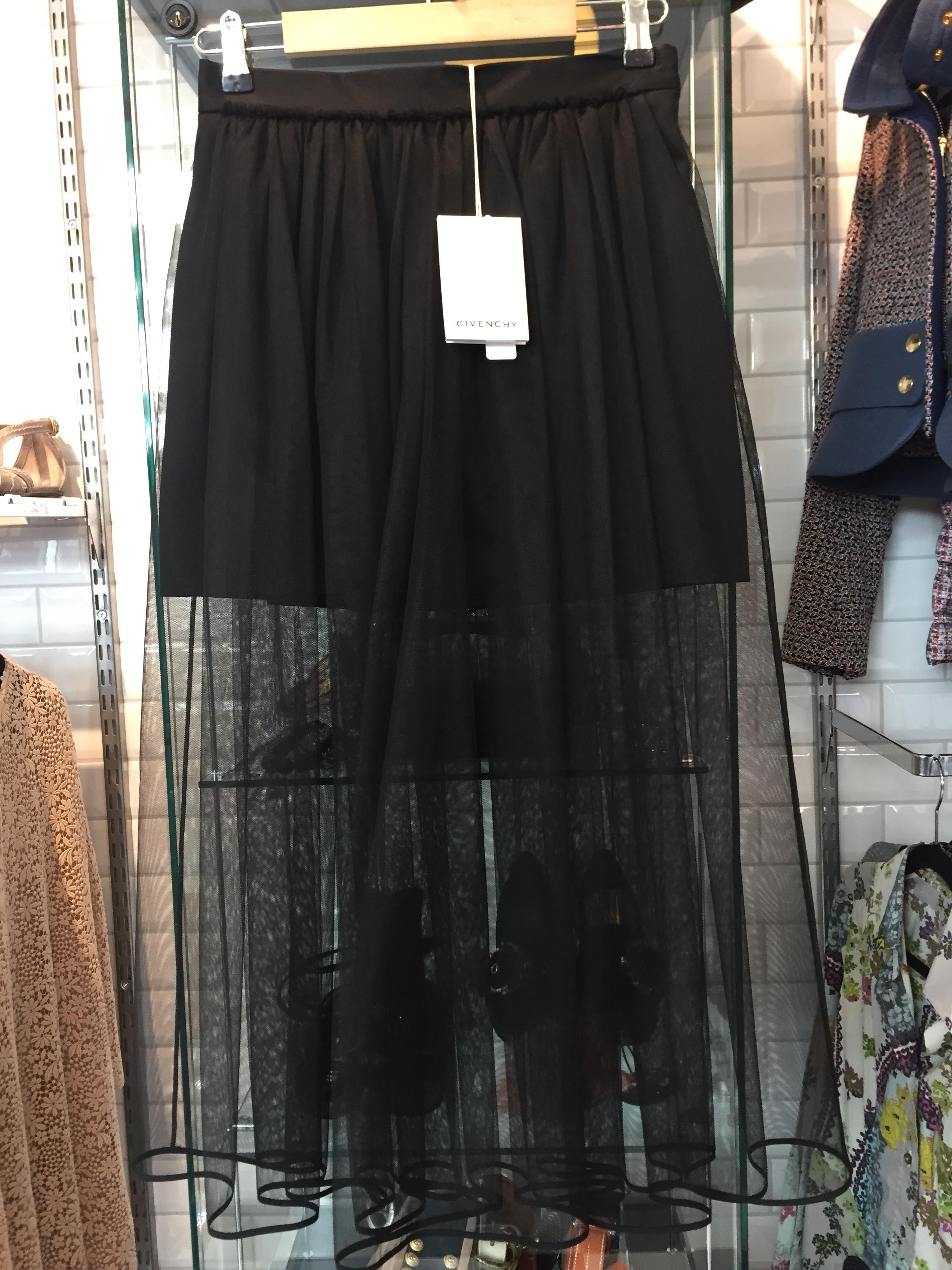 Givenchy Tyll Kjol
